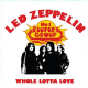 Led Zeppelin Whole Lotta Love steel fridge magnet       (ro)